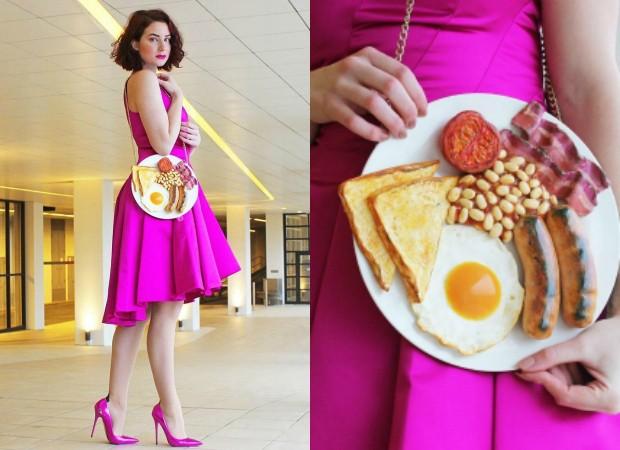 Rommy Kuperus cria bolsas que imitam comidas (Foto: Instagram / Reprodução)