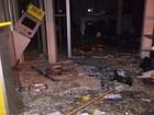 Caixas eletrônicos são explodidos durante a madrugada no Norte de SC