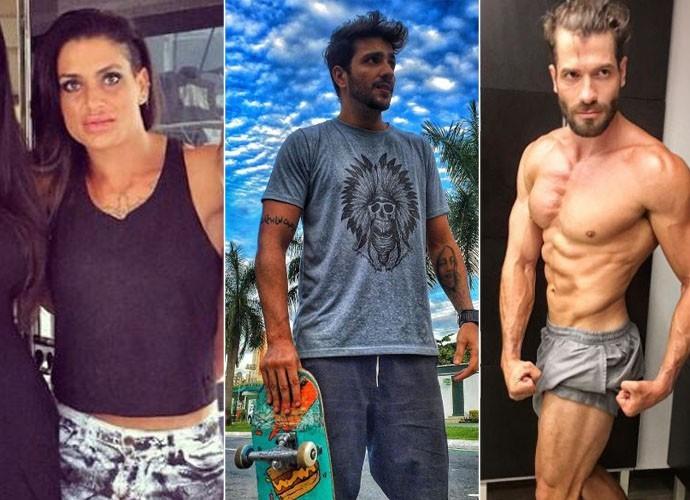 Tatiana Giordano, Junior Gianetti e Roni Mazon estarão no Bate-Papo BBB  (Foto: Arquivo Pessoal)