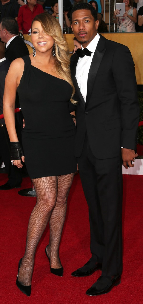Mariah Carey e Nick Cannon foram casados entre 2008 e 2014 (Foto: Getty Images)