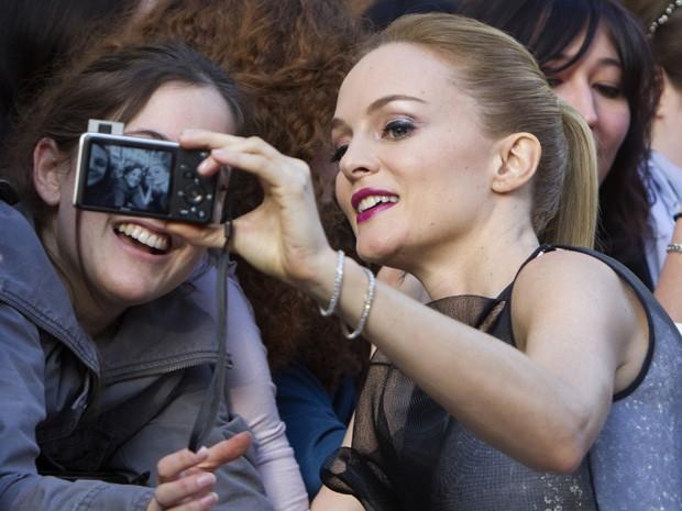Ator Zach Galifianakis divulga em Paris o filme 'Se beber, não case 3', nesta segunda (27) (Foto: AP Photo/Jacques Brinon)