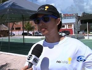 marina tavares tenis (Foto: Reprodução/TV Gazeta)