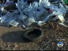 'Lixão' em terreno perto de escola preocupa moradores em Jundiaí
