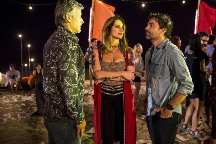 Alerta treta: Marcello Novaes comenta encontro de Vittorio, Lenita e Felipe no lual (Foto: Ellen Soares/Gshow)
