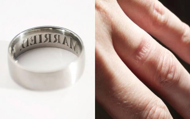 Empresa lançou 'anel antitraição'. (Foto: Reprodução/thecheeky.com)