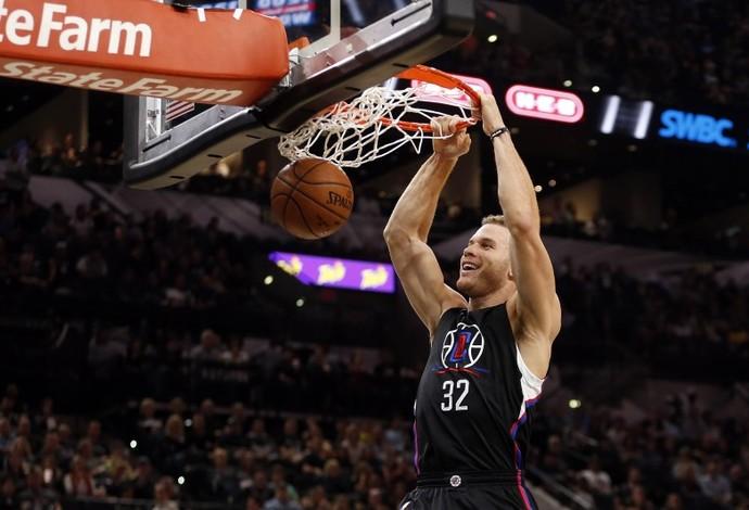 Blake Griffin Los Angeles Clippers x Philadelphia 76ears (Foto: Reuters)
