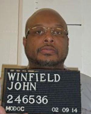 John E. Winfield em foto de fevereiro de 2014 (Foto: Missouri Department of Corrections/AP)