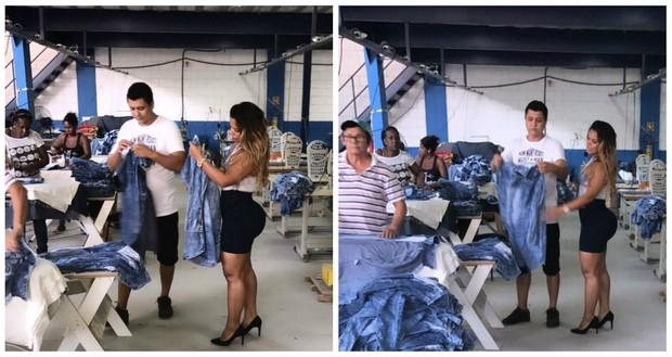 Dayane Cristina, Mulher Jaca (Foto: Divulgação/R2)