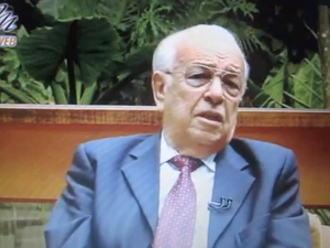 Presidente afastado e fundador da Igreja Cristã Maranata, pastor Gedelti Gueiros (Foto: Reprodução/ TV Web Maanaim)