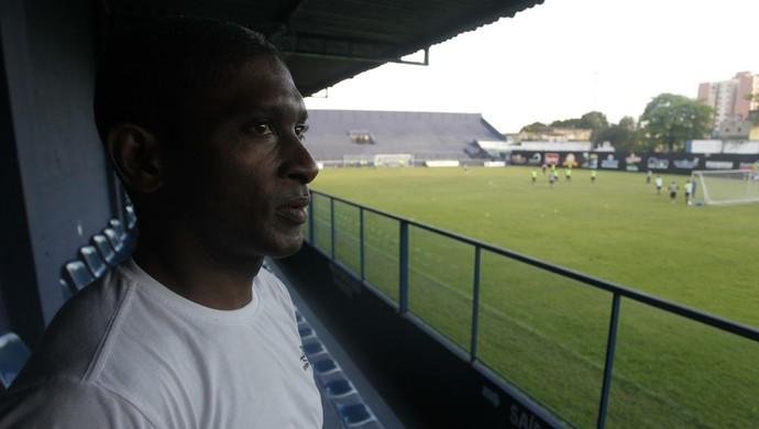 Landu ainda não pensa em aposentadoria no futebol (Foto: Akira Onuma/O Liberal)