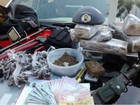 Homem preso com drogas faria parte de quadrilha que furta caixas em Itu