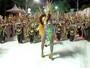 Campeã do taekwondo vira rainha de bateria de escola de samba; vídeo