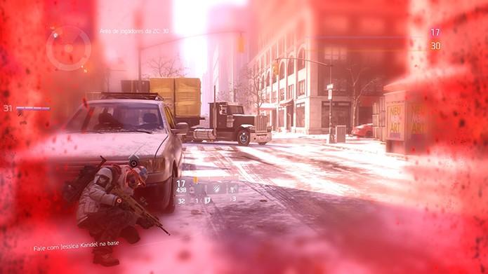 Morrer faz você perder XP e itens na Dark Zone (Foto: Reprodução/Thiago Barros)