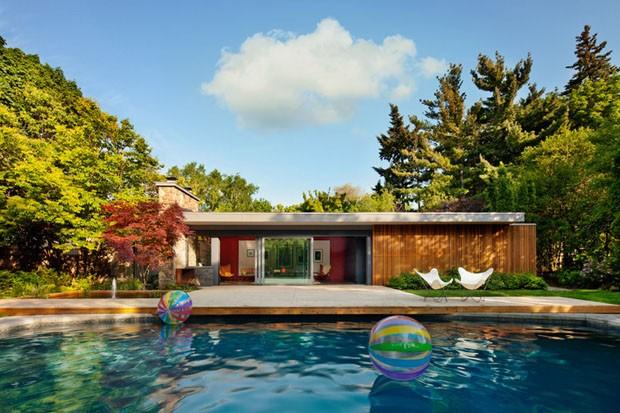 Pool House Toronto (Foto: Colin Faulkner / Divulgação)