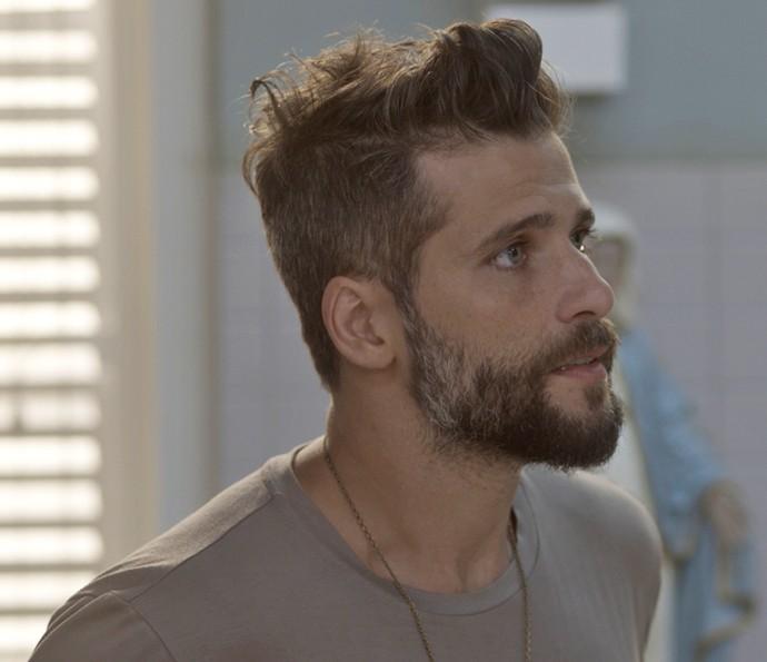 Mario enfrenta Ana Clara e avisa que vai ficar no hospital (Foto: TV Globo)