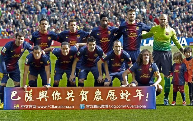 Barcelona ano novo chinês (Foto: EFE)