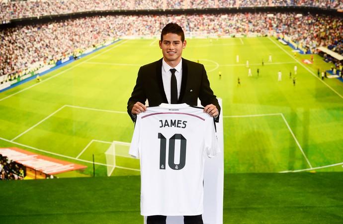 james rodriguez real madrid (Foto: AFP)