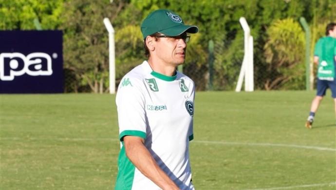 Augusto César é técnico interino do Goiás (Foto: Rosiron Rodrigues / Goiás E.C.)
