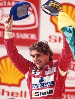 Ayrton Senna e Brasil: combinação que inspirou toda uma geração