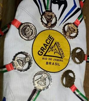 Medalhas conquistadas por tocantinenses no Brasília Pro (Foto: Arquivo Pessoal)