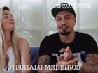 Ex-BBBs Aline e Fernando criam rede social para o filho