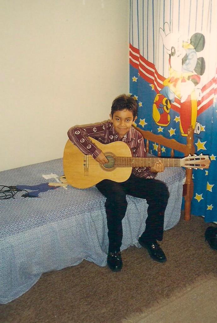 Willian San'Per The Voice (Foto: Arquivo pessoal)