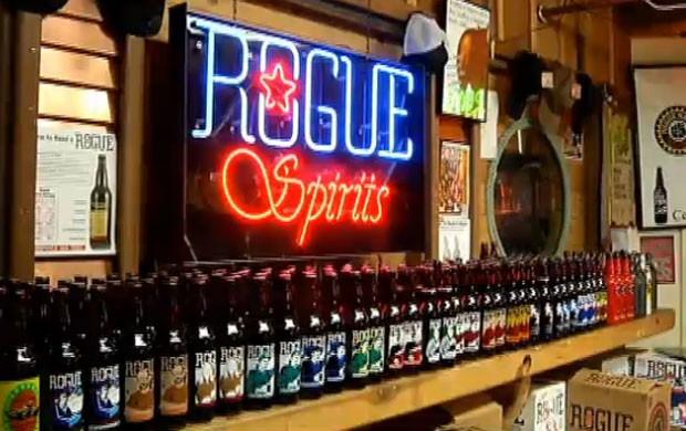 Rogue é famosa por suas cervejas artesanais. (Foto: Reprodução)