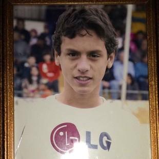 Rodrigo Caio São Paulo criança (Foto: Arquivo pessoal)