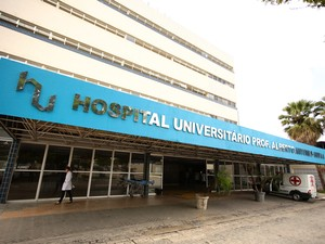 Hospital Universitário em Alagoas (Foto: Jonathan Lins/G1)
