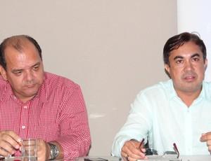Enaldo Marques e Fernando Paiva (Foto: Paulo Victor Malta / Globoesporte.com)