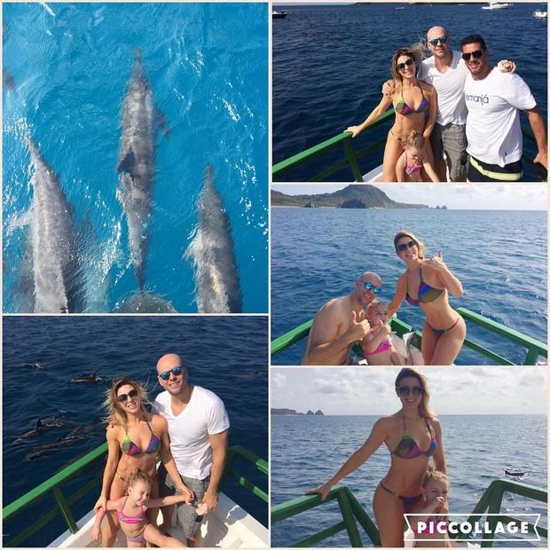Shiela Mello e a família (Foto: Reprodução / Instagram)