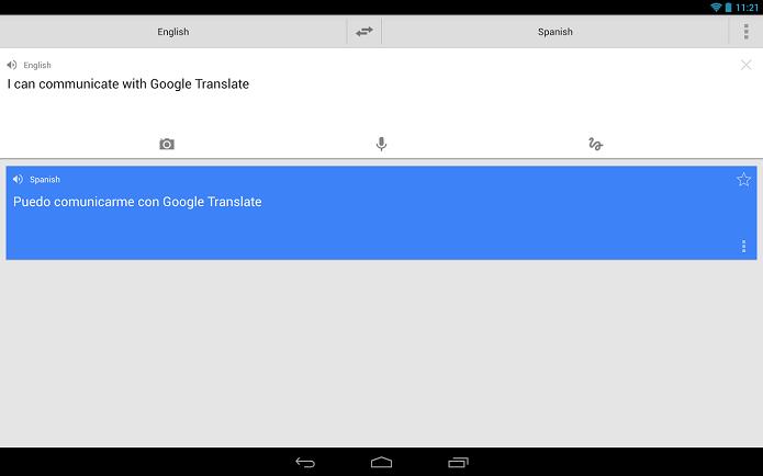 Translate ficará ainda mais completo com update (Foto: Divulgação)
