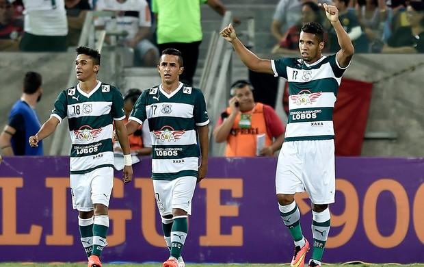 Samuel gol Goiás x Flamengo (Foto: Getty Images)