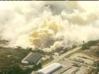 Fumaça tóxica tira cerca de 500 pessoas de São Francisco do Sul (SC)