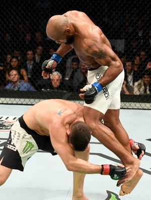 Yoel Romero Chris Weidman UFC 205 (Foto: Getty Images)