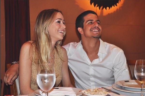 Enzo Celulari e namorada (Foto: Reprodução / Instagram)