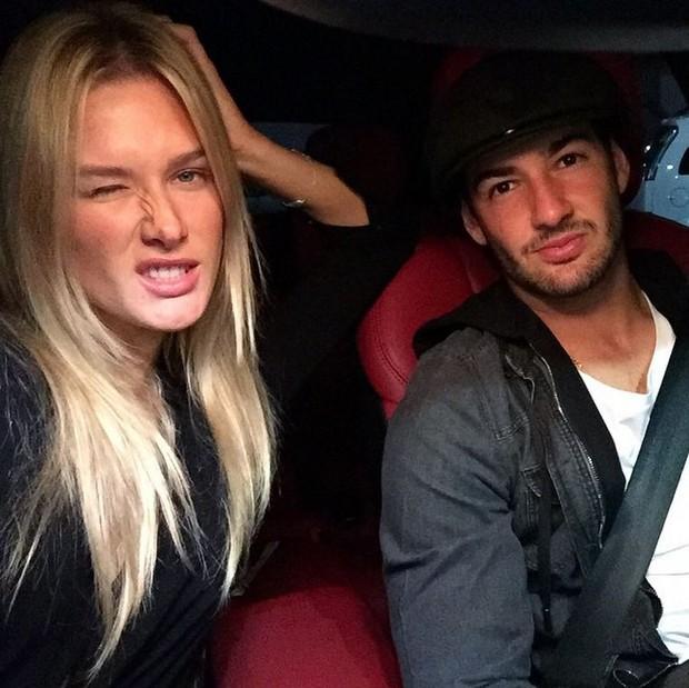 Fiorella Mattheis e Alexandre Pato (Foto: Reprodução / Instagram)