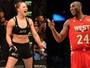 Astro da NBA tentou consolar Ronda após derrota por nocaute para Holm