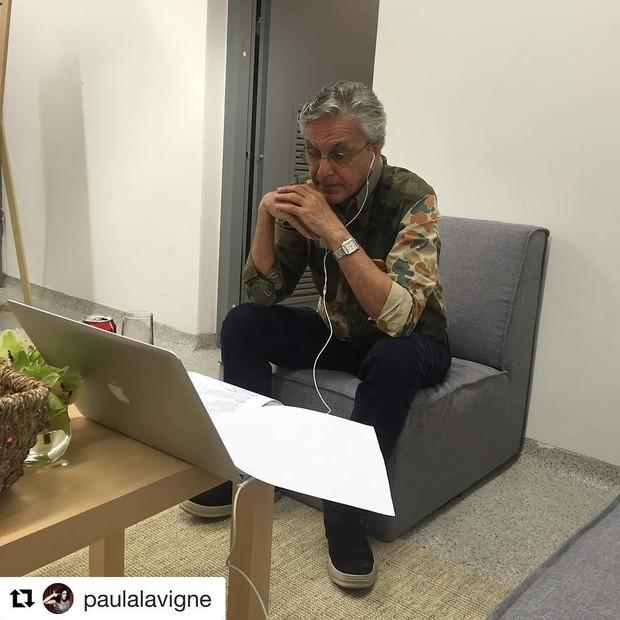 Caetano Veloso (Foto: Reprodução / Instagram)