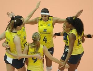 Brasil 3 x 0 Tailândia, Grand Prix de vôlei (Foto: FIVB / Divulgação)