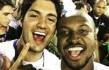 """Medina tira foto com Thiaguinho e se despede do carnaval: """"Aos trabalhos"""" (Reprodução / Instagram)"""