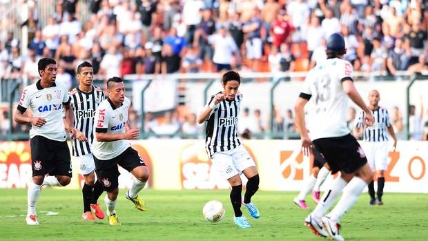 Neymar, Corinthians x Santos (Foto: Marcos Ribolli)