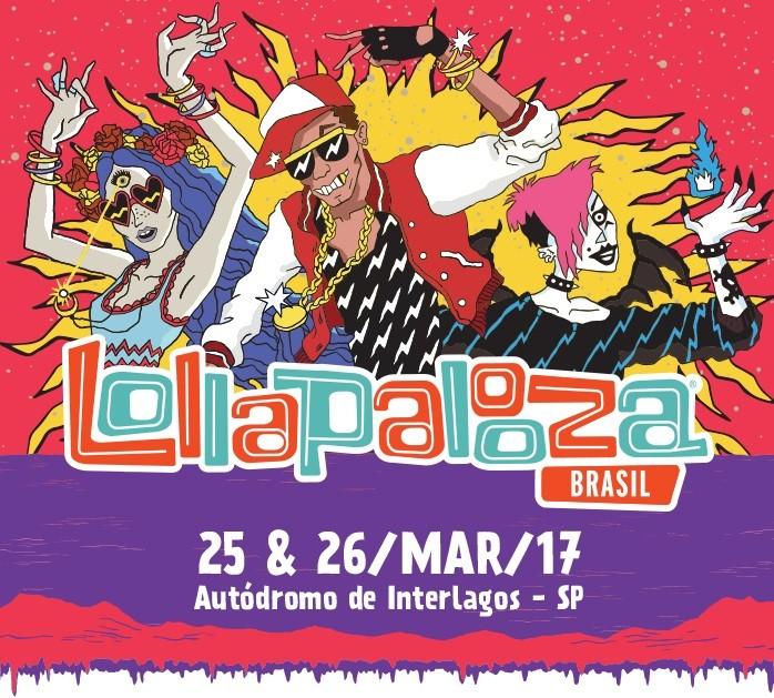 Lollapalooza 2017 est confirmado para os dias 25 e 26 de maro, no Autdromo de Interlagos (Foto: Divulgao)