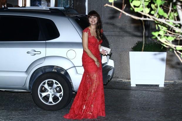 Simone Soares no casamento de Rayanne Morais e Latino (Foto: Raphael Mesquita / FotoRioNews)
