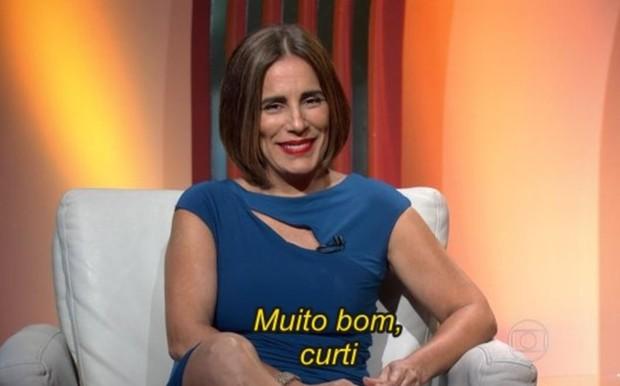 Gloria Pires no Oscar 2016 (Foto: Reprodução/Globo)