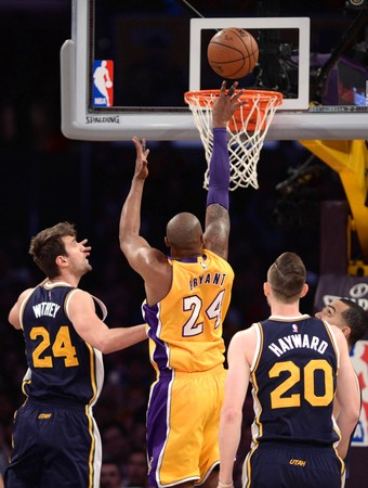 Kobe Bryant despedida NBA basquete Lakers x Jazz (Foto: Reuters)