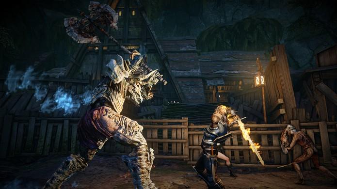 Contra-ataques dão uma vantagem bem-vinda aos combates de Bound by Flame (Foto: gamesided.com)