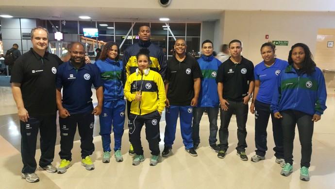 Seleção brasileira levantamento de peso (Foto: Divulgação/CBLP)