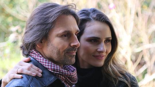 Fernanda Tavares e Murilo Rosa contam que curtem 'viagem a quatro' com os filhos