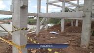 Giro de notícias: homem morre atingido por viga de concreto em construção de Chapecó